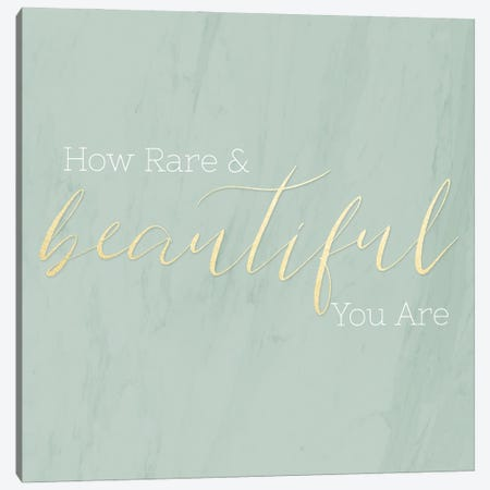 Rare & Beautiful Canvas Print #CAD116} by CAD Designs Art Print