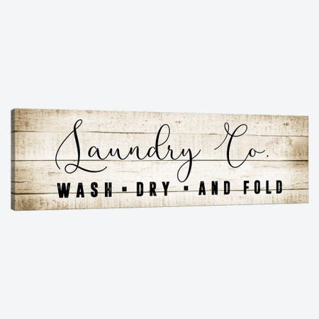 Laundry Co. Canvas Print #CAD13} by CAD Designs Art Print
