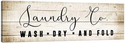 Laundry Co. Canvas Art Print
