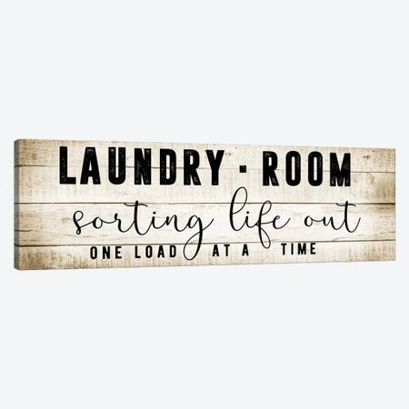 Laundry Room Canvas Print #CAD14} by CAD Designs Canvas Wall Art