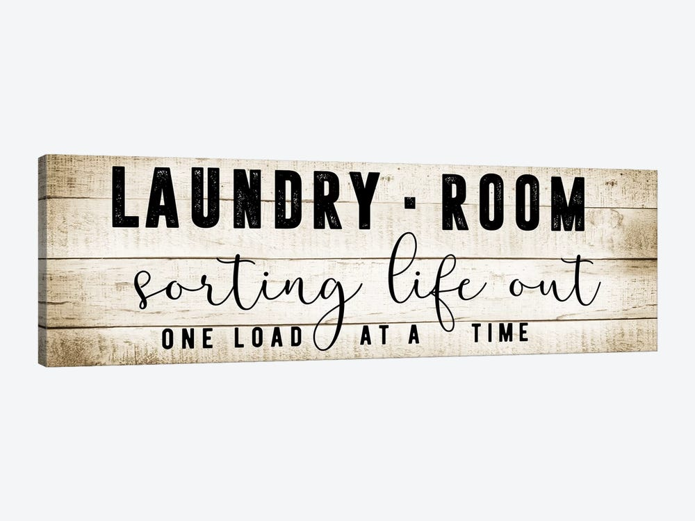 Laundry Room by CAD Designs 1-piece Canvas Print