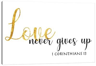 1 Corinthians 13 Canvas Art Print