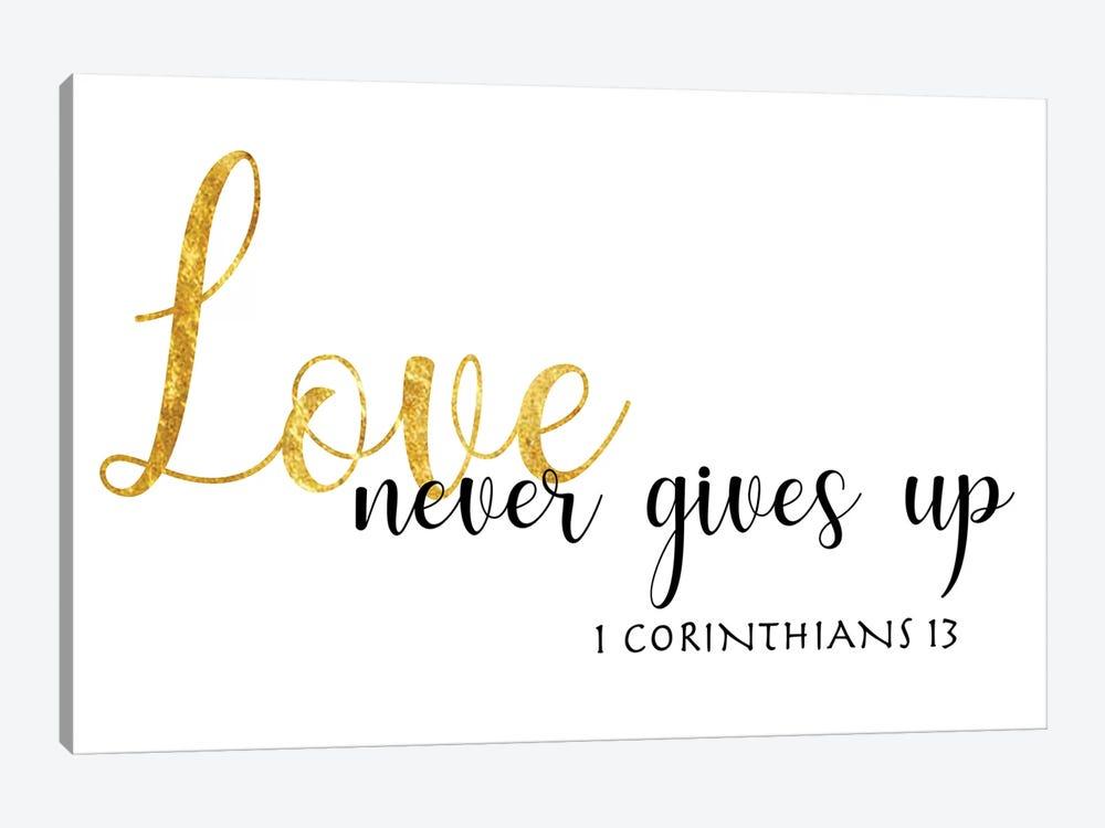 1 Corinthians 13 by CAD Designs 1-piece Canvas Wall Art