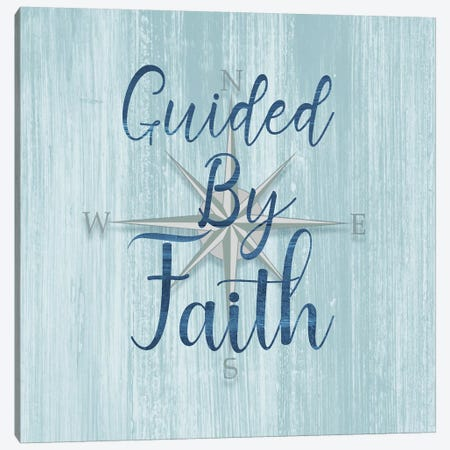 Guided by Faith Canvas Print #CAD18} by CAD Designs Canvas Print