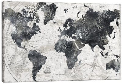 Modern Atlas Canvas Art Print