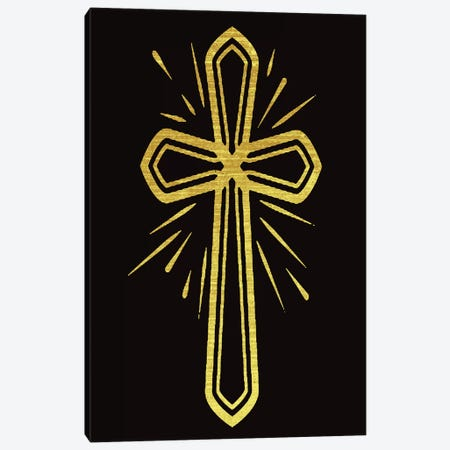 The Cross Canvas Print #CAD28} by CAD Designs Canvas Wall Art