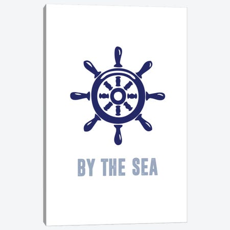 Meet Me by the Sea II Canvas Print #CAD2} by CAD Designs Canvas Wall Art