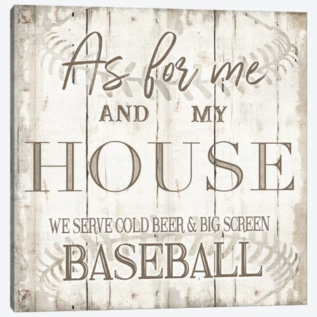 Baseball Canvas Print #CAD32} by CAD Designs Canvas Print