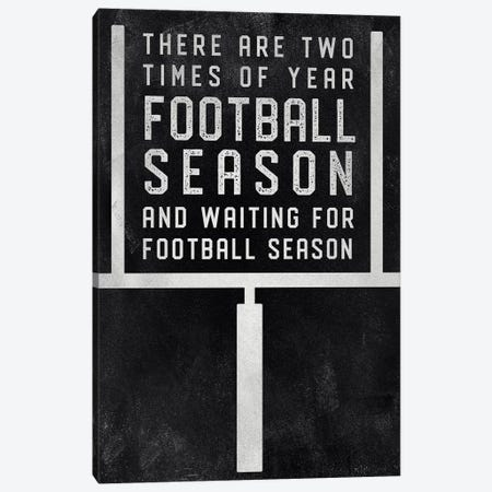 Football Season Canvas Print #CAD36} by CAD Designs Canvas Artwork
