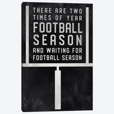Football Season Canvas Print #CAD36} by CAD Designs Canvas Artwork