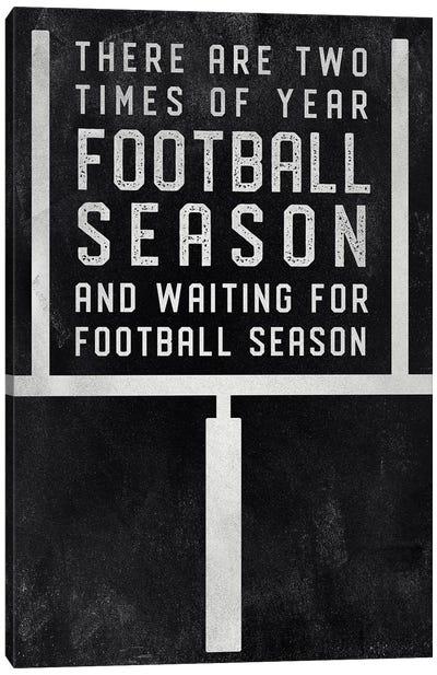 Football Season Canvas Art Print