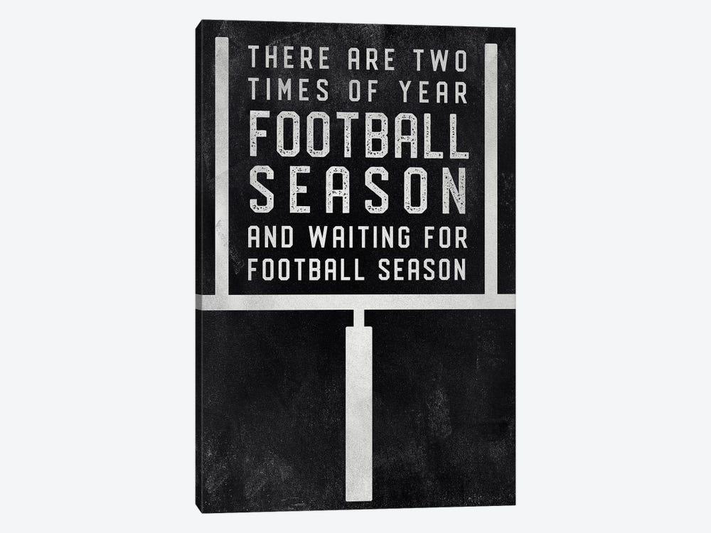 Football Season by CAD Designs 1-piece Canvas Art Print