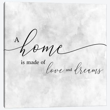A Home Canvas Print #CAD41} by CAD Designs Canvas Wall Art