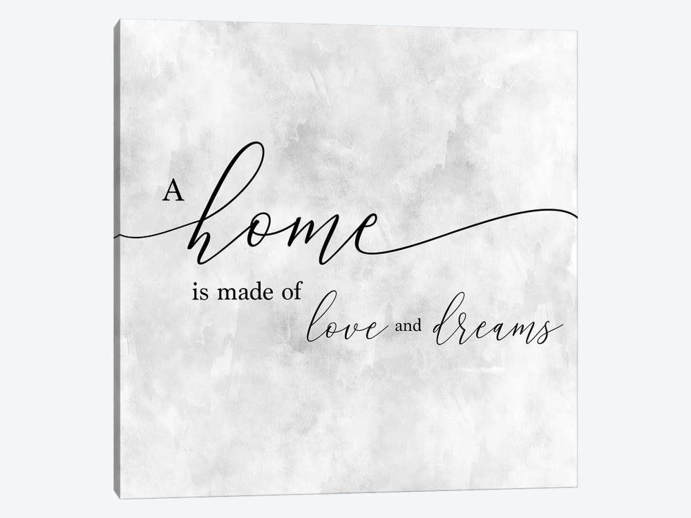 A Home by CAD Designs 1-piece Canvas Art Print