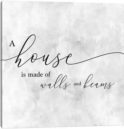 A House Canvas Art Print