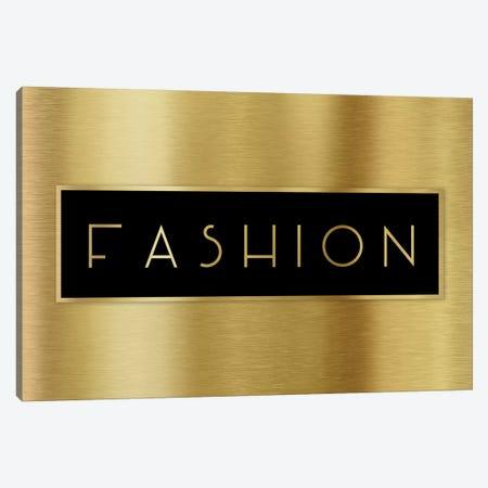 Gold Fashion Canvas Print #CAD45} by CAD Designs Canvas Art Print