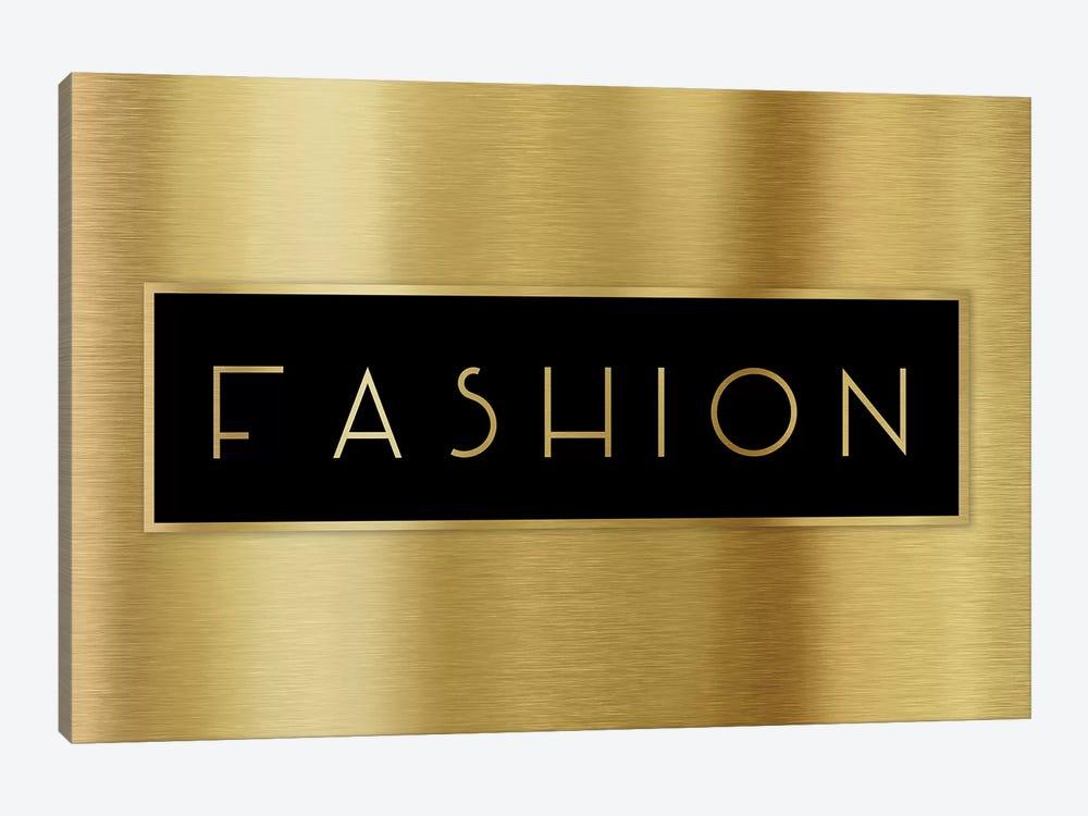 Gold Fashion by CAD Designs 1-piece Canvas Print