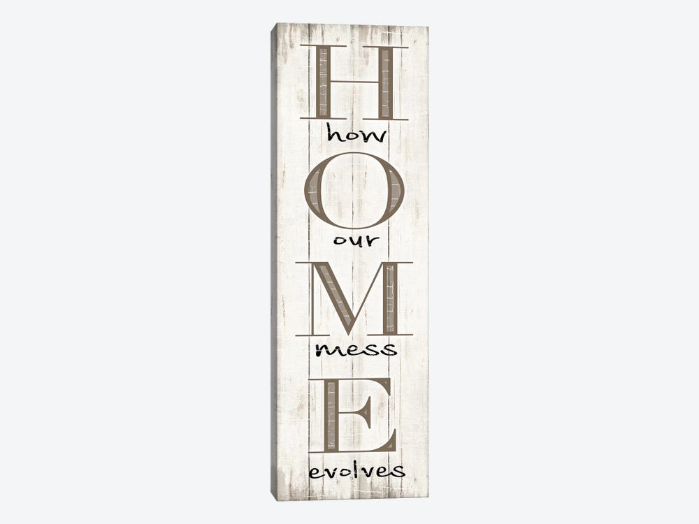 Home by CAD Designs 1-piece Canvas Wall Art