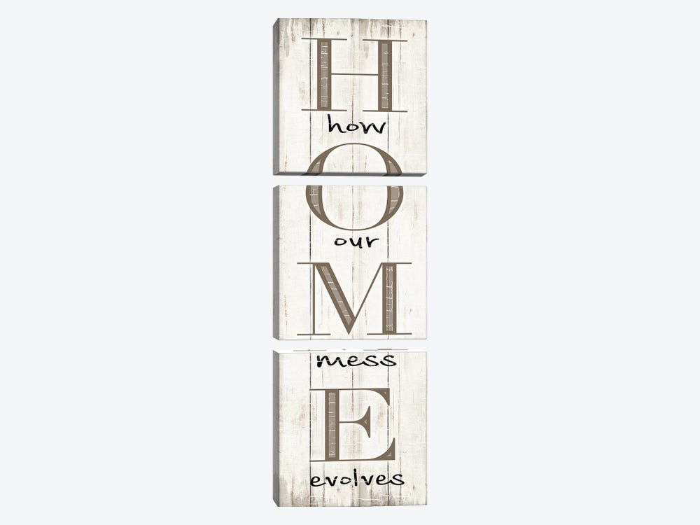 Home by CAD Designs 3-piece Canvas Wall Art