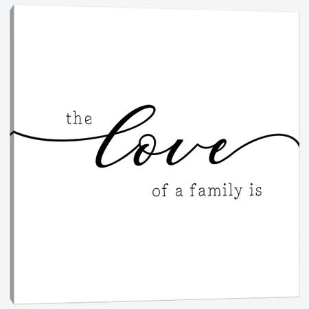 Love of a Family Canvas Print #CAD49} by CAD Designs Canvas Art