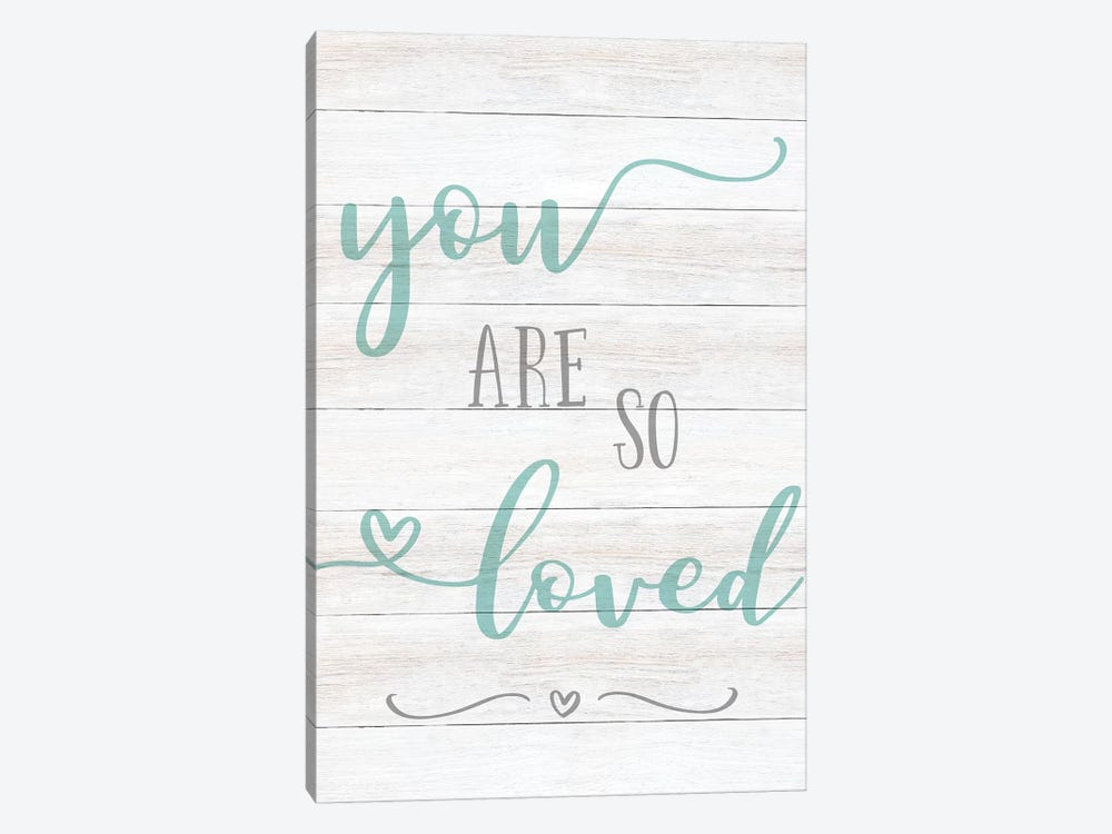 So Loved by CAD Designs 1-piece Art Print