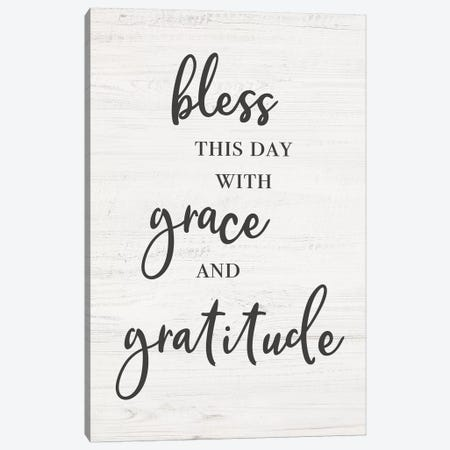 Bless This Day Canvas Print #CAD54} by CAD Designs Canvas Art