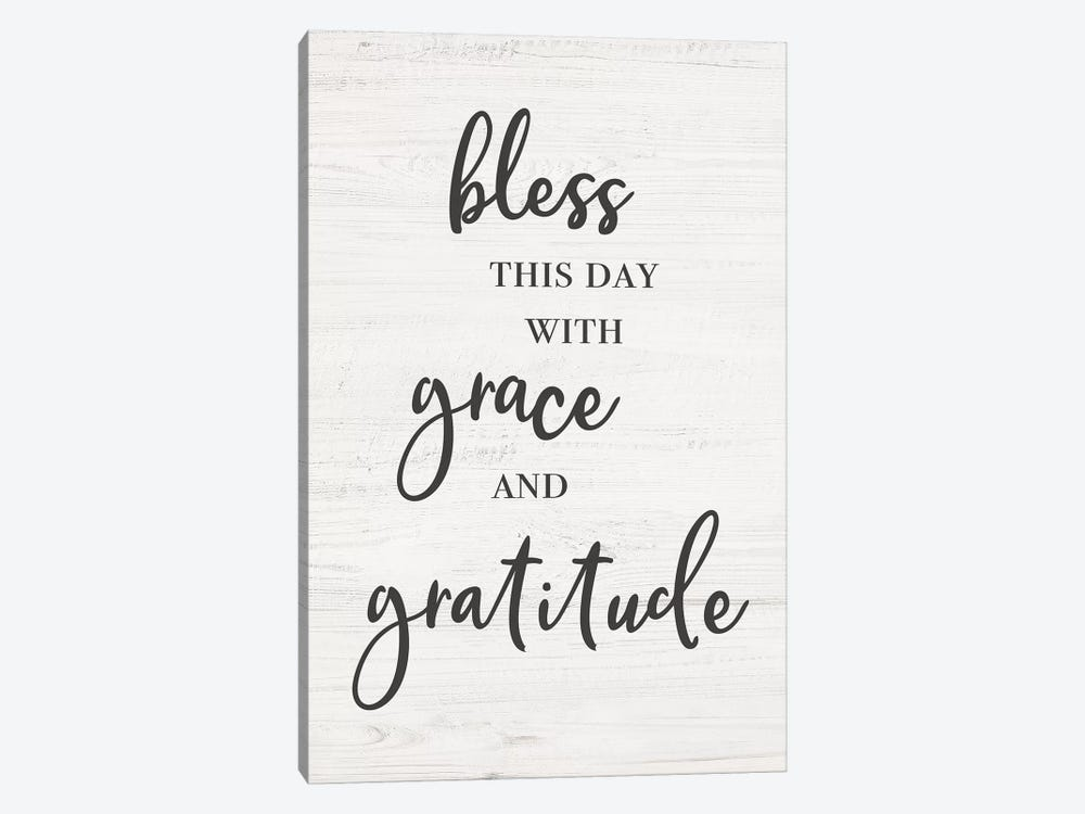 Bless This Day by CAD Designs 1-piece Canvas Print