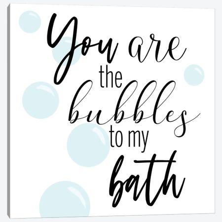 Bubble Bath Canvas Print #CAD55} by CAD Designs Canvas Artwork