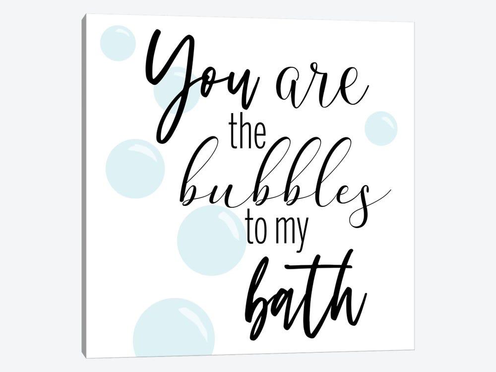 Bubble Bath by CAD Designs 1-piece Canvas Artwork