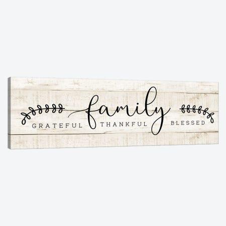 Family Canvas Print #CAD59} by CAD Designs Canvas Art Print
