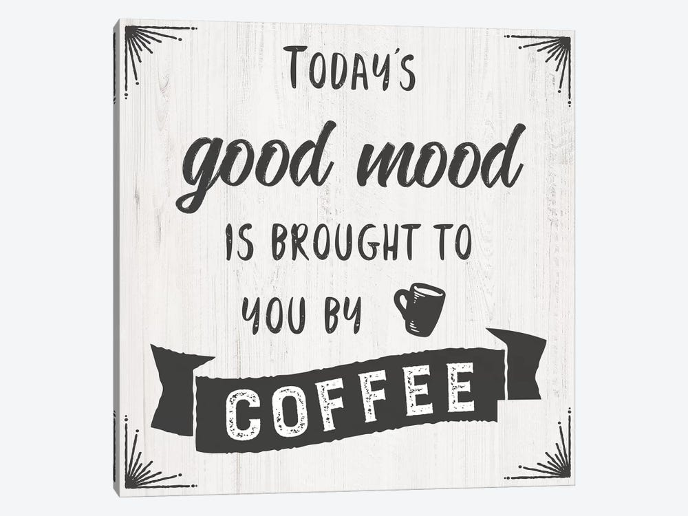 Today'S Mood by CAD Designs 1-piece Canvas Art