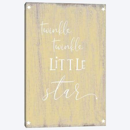 Twinkle Canvas Print #CAD69} by CAD Designs Canvas Artwork