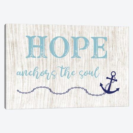 Hope Anchors Canvas Print #CAD78} by CAD Designs Canvas Print