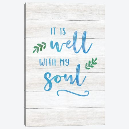 It Is Well Canvas Print #CAD95} by CAD Designs Canvas Wall Art