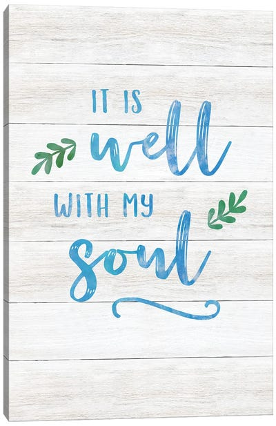 It Is Well Canvas Art Print