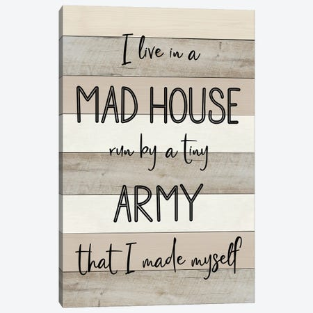 Mad House Canvas Print #CAD97} by CAD Designs Canvas Wall Art