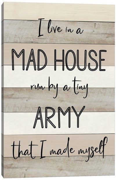 Mad House Canvas Art Print