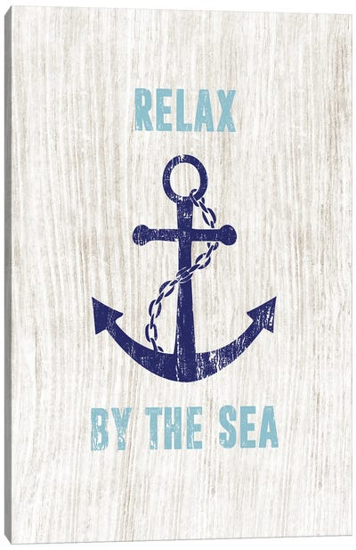 Relax By the Sea Canvas Art Print
