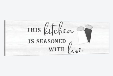 Seasoned with Love Canvas Print #CAD99} by CAD Designs Art Print