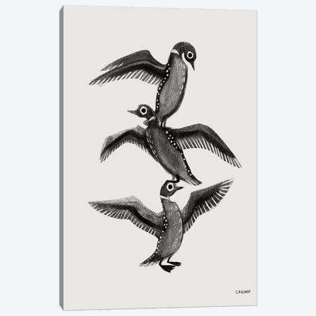 Loon Stack Canvas Print #CAE32} by Carolynn Elshof Canvas Wall Art