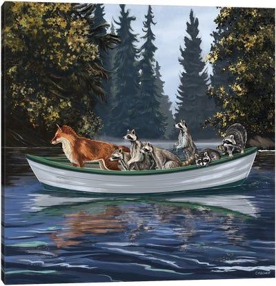 Travellers VII Canvas Art Print