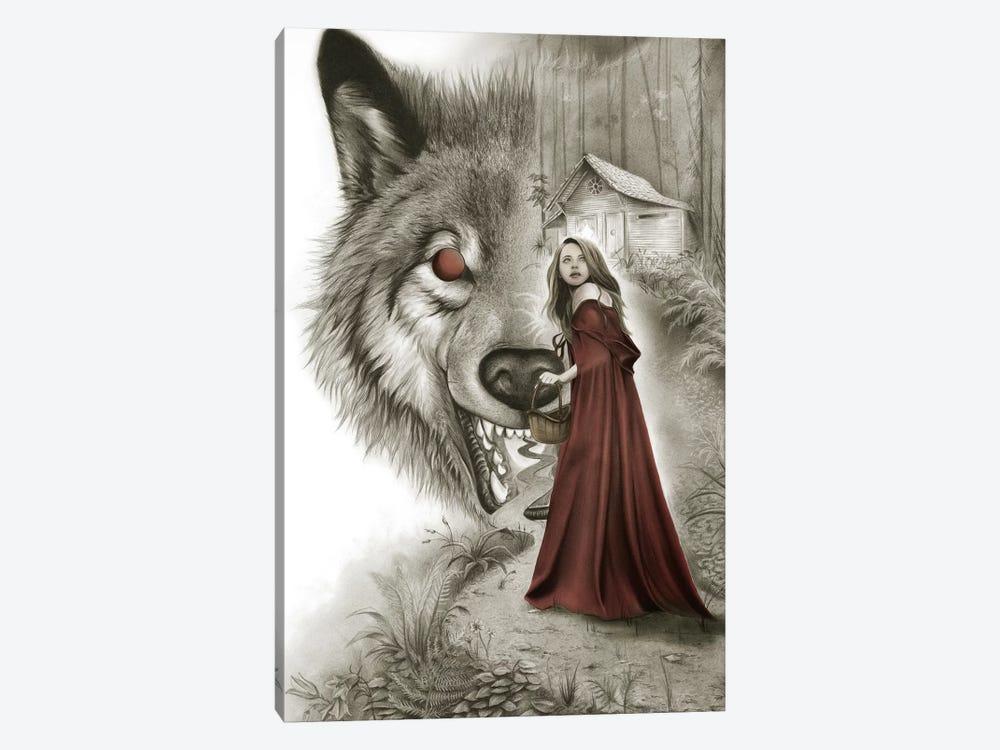 Red Riding Hood by Carlos Fernandez 1-piece Canvas Wall Art