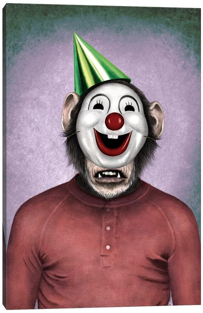 Show Monkey Canvas Art Print