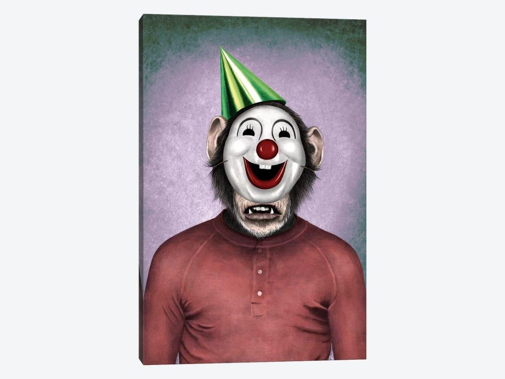 Show Monkey by Carlos Fernandez 1-piece Canvas Print