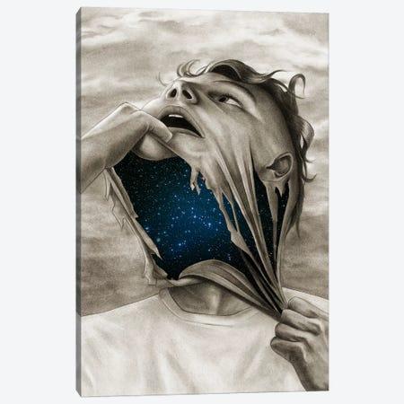 Spaceface Canvas Print #CAF17} by Carlos Fernandez Canvas Artwork