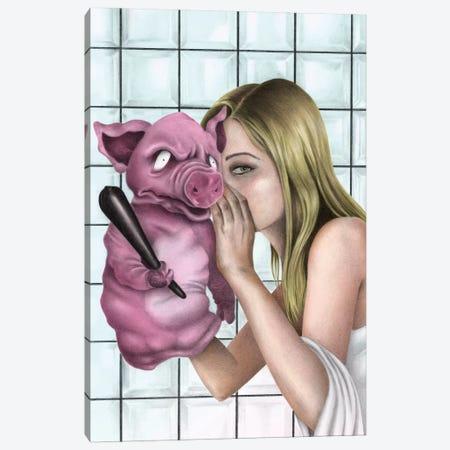The Secret Canvas Print #CAF21} by Carlos Fernandez Canvas Artwork