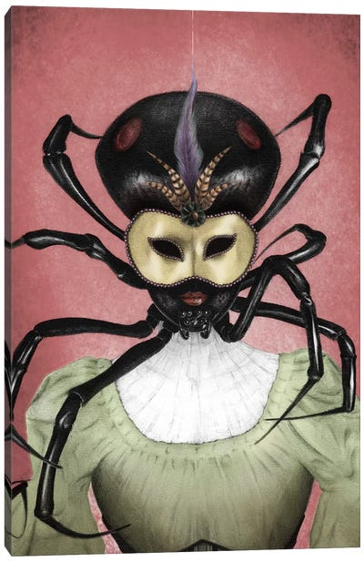 Black Widow Canvas Art Print