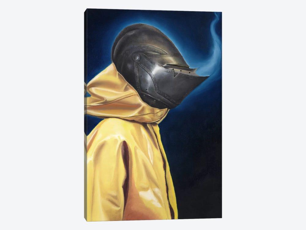 Knight by Carlos Fernandez 1-piece Canvas Art Print