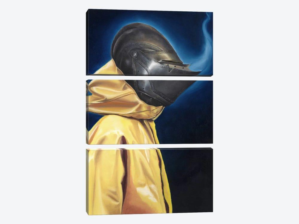 Knight by Carlos Fernandez 3-piece Art Print