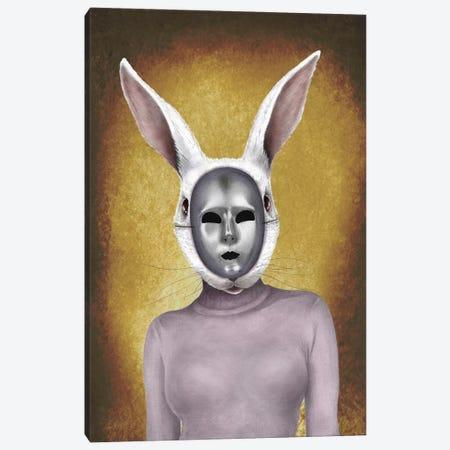 Metal Rabbit Canvas Print #CAF8} by Carlos Fernandez Canvas Artwork